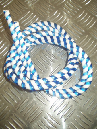 Cable candy stripes