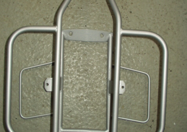 Horizontal rear carrier Lambretta series 3