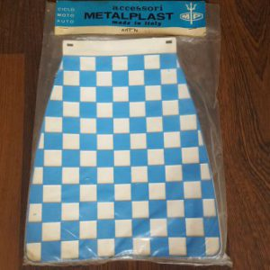 Metalplast blue and white