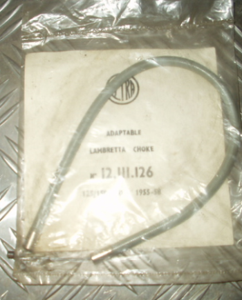 Lambretta LD D choke cable